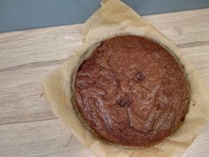 Ciasto czekoladowe piernikowe brownie